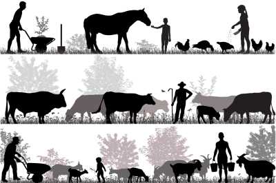 Family of farmers