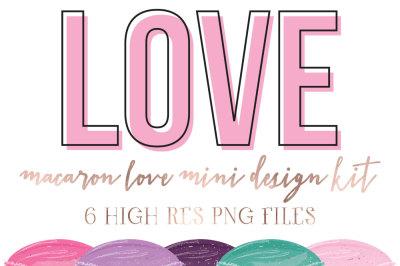 Macaron Love mini design kit Vol 2