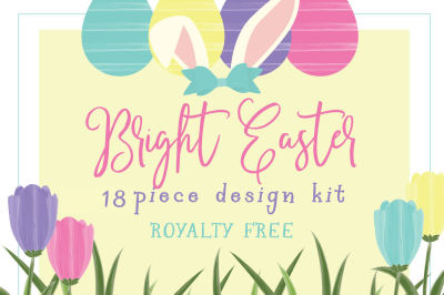 Bright Easter design kit