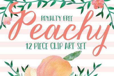 Peachy clip art