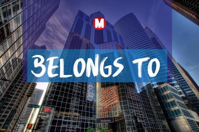 Belongs to