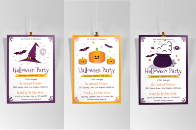 3 in 1 Halloween Flyer Vol.1