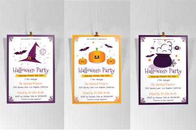 3 in 1 Halloween Flyer Vol.1