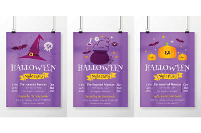 3 in 1 Halloween Flyer Vol.2