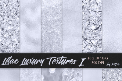 Lilac Luxury Textures I