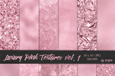 Luxury Pink Textures I