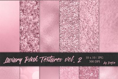 Luxury Pink Textures II