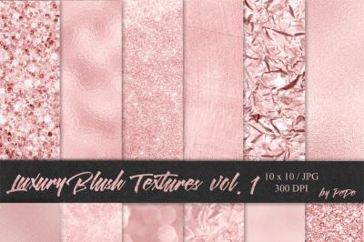 Luxury Blush Textures I