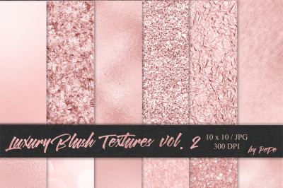 Luxury Blush Textures II