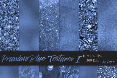 Prussian Blue Textures I