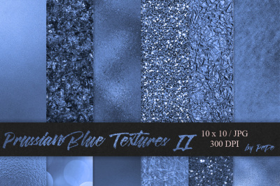 Prussian Blue Textures II