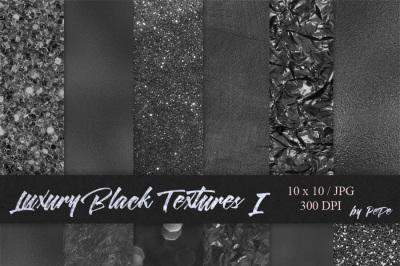 Luxury Black Textures I