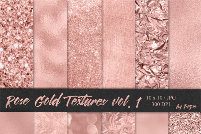 Rose Gold Textures I