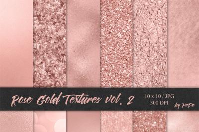 Rose Gold Textures II