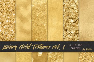 Luxury Gold Textures I