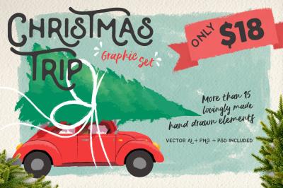 Christmas Trip: a graphic set