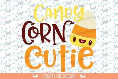 Candy Corn  SVG Halloween cut File for heat transfer vinyl