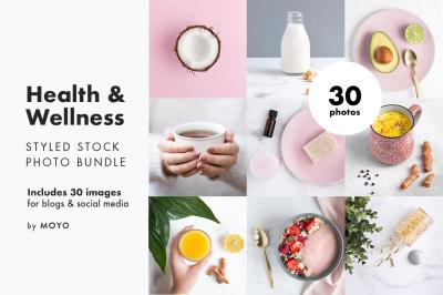 Health & Wellness Stock Photo Bundle
