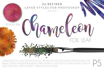 Chameleon Foil Leaf
