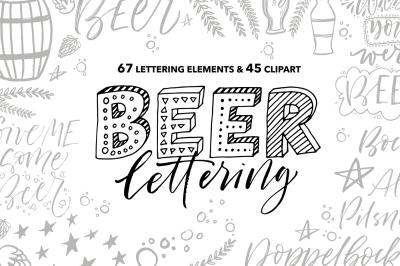 Beer lettering pack.