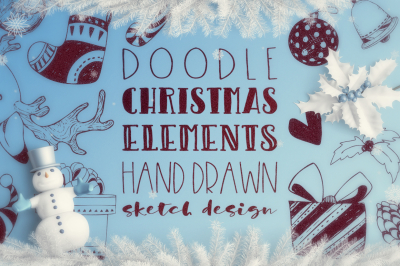 Doodle Christmas collection