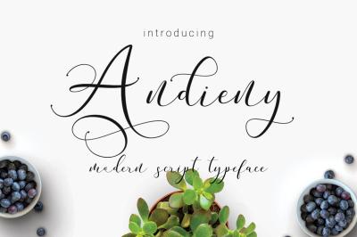 Andieny Typeface