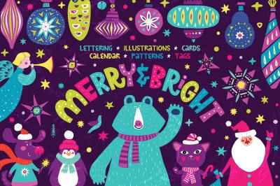 MERRY & BRIGHT - Christmas Set
