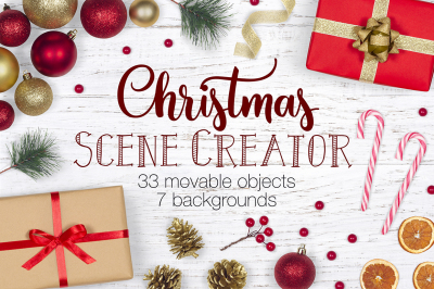 Christmas Scene Creator - Top View