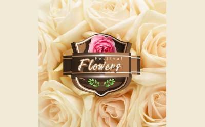 Mockup - Seal 3D  Flowers