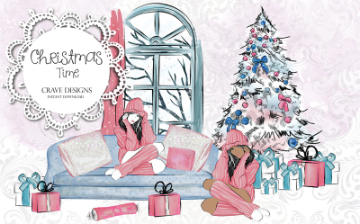 Christmas Time Clip Art