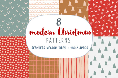 Modern Christmas Patterns