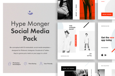 Hype Monger Social Media Pack