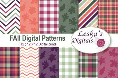 Fall Digital Paper Pack