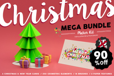 90% OFF: Christmas MEGA BUNDLE Set