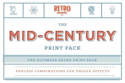 The Mid-Century Print Pack Mega Bundle