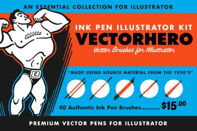 VectorHero | Ink Brush Pack