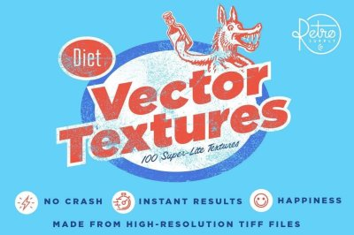 Diet Vector Texture Bundle