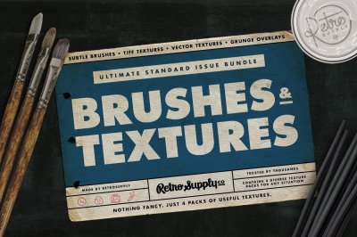 Standard Issue Brush & Texture Bundle