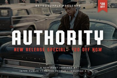 Authority Typeface