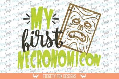 My First Necronomicon Svg DXF EPS PDF PNG • Cut File • Cricut • Silhouette