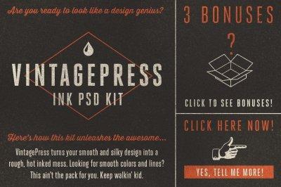 VintagePress Smart PSD