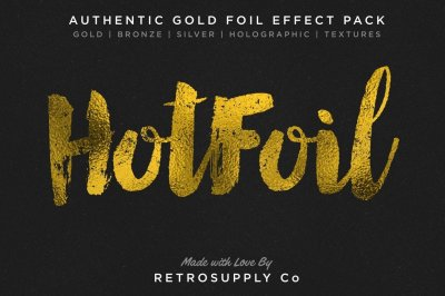 Hot Foil | Gold Foil Effect and More