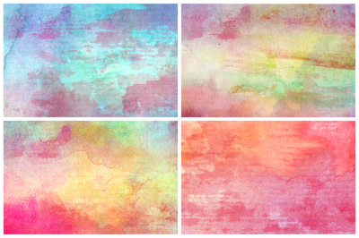 50 Watercolor Backgrounds 10