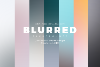 Blurred Backgrounds + Royal Gradients | 90% Off For Limited Period