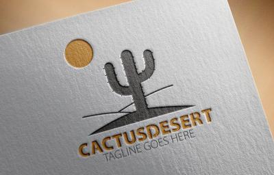 Cactus Desert Logo