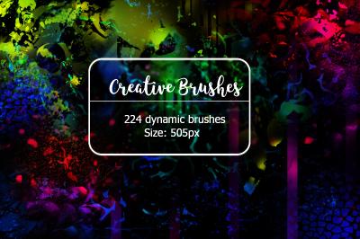 224 Dynamic Creative Brushes