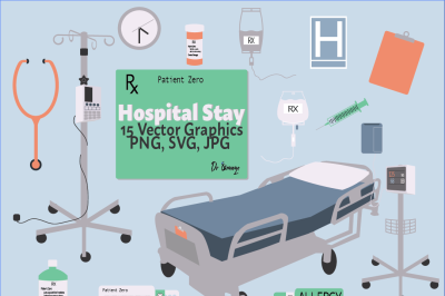 Hospital Stay Graphics Pack