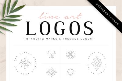 Line Art Logos