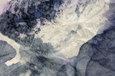 Crumbled Stained Paper Texture Background