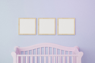 Baby Room frame mockup - 18